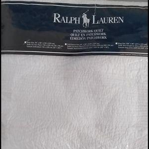 Ralph Lauren patchwork quilt